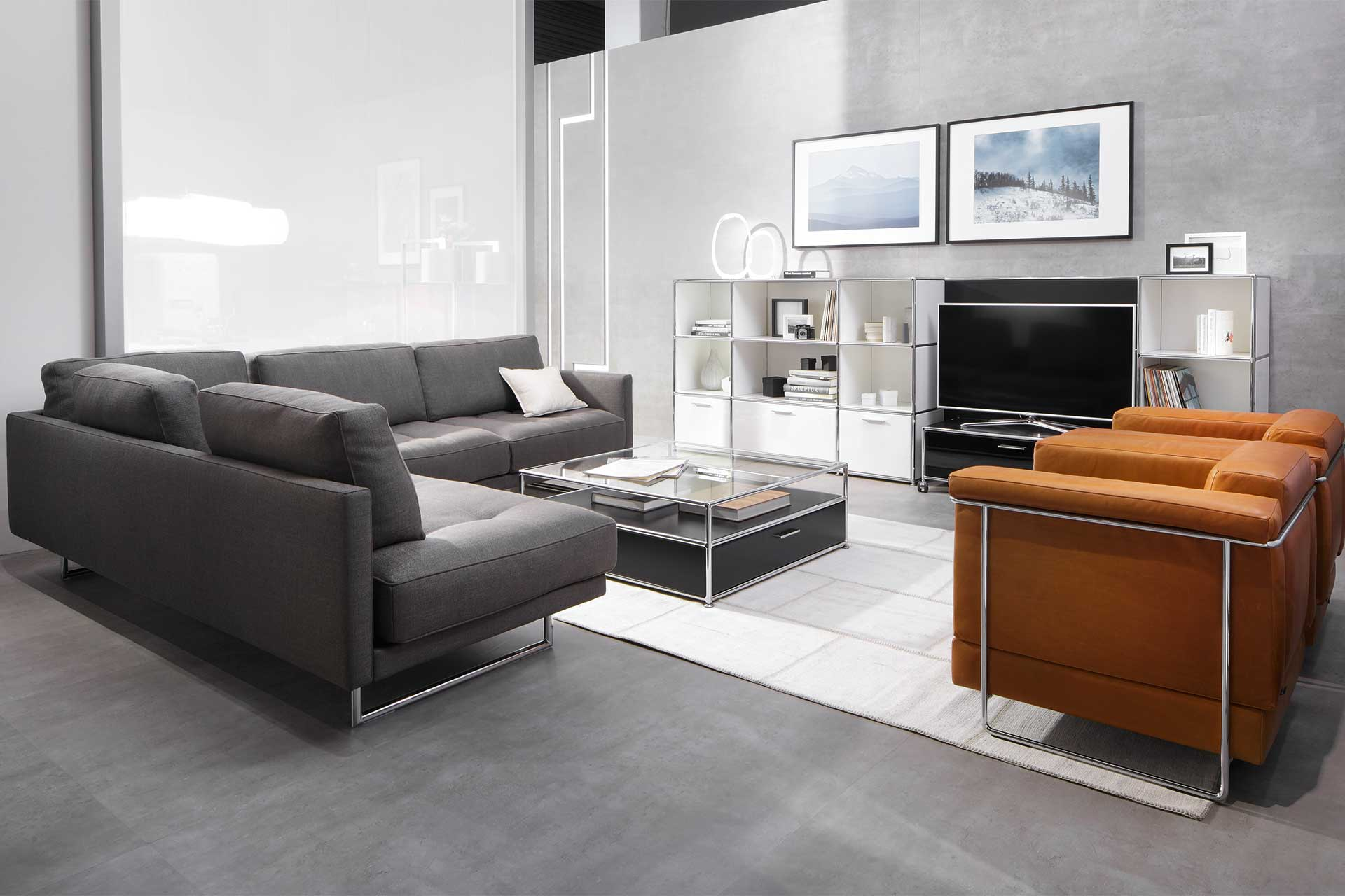 tv board wei hochglanz h ngend. Black Bedroom Furniture Sets. Home Design Ideas